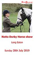 notts derby horse show
