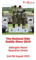 The National Side Saddle Show 2019